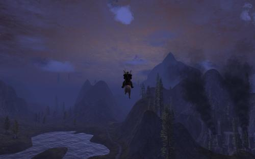 Ardwulf Flies High Over Thestra